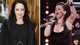 Lucii Bílou (vlevo) nahradí v Talentu Marta Jandová.