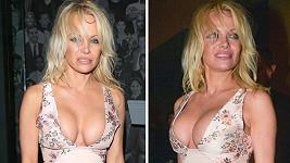 Pamela ve tváři stárne, její hrudník se ale nemění.