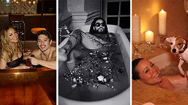 Lenny Kravitz se po vzoru Mariah na svátek všech zamilovaných nechal zvěčnit ve vaně...