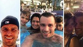 Taková normální rodinka na dovolené.