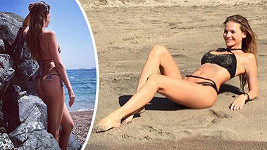 Andrea Verešová si užívá dovolenou na Tenerife.