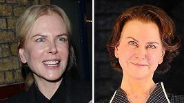 Civilní a divadelní Nicole Kidman...
