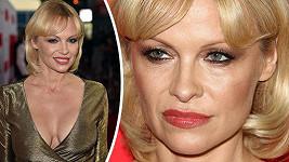 Pamela Anderson zavítala v Los Angeles na premiéru filmu The Gunman: Muž na odstřel.