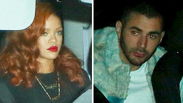 Rihanna randí s Karimem Benzemou.