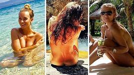 Známé krásky odhalovaly své přednosti na sociální síti...