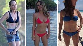 Elizabeth Hurley, Brooke Shields a Helen Hunt