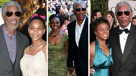 Morgan Freeman měl s Edenou Hines blízký vztah.