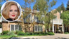 Adele si udělala radost koupí tohoto krásného sídla na lukrativní adrese.