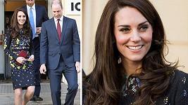 Vévodkyně z Cambridge v Londýně osnila novým účsem.