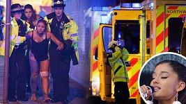 Dvaadvacet mrtvých včetně dětí si vyžádal teroristický útok na koncertu Ariany Grande (23) v anglickém Manchesteru.