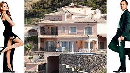 Brad Pitt a Angelina Jolie vlastní nové bydlení na Mallorce...