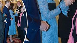 Maminka prince George a princezničky Charlotte vypadala na královské recepci uvolněně.