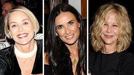 Sharon Stone, Demi Moore a Meg Ryan ve středu večer nezůstaly doma v koutě...