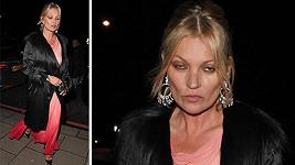 Kate Moss oslavila 43. narozeniny.