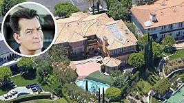 Charlie Sheen prodává svůj dům neřesti.