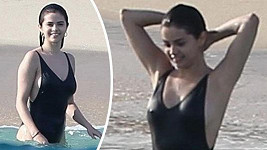 Selena Gomez přivítala nový rok v Mexiku.