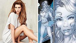 Tereza Kerndlová se stala předlohou pro komiks.
