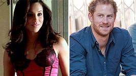 Princ Harry se údajně zakoukal do herečky Meghan Merkle...