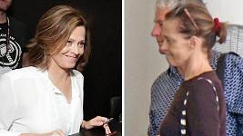 Sigourney Weaver (67) v roce 2017. Snímky byly pořízeny s odstupem dvou týdnů.