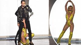Britney Spears a G-Eazy na udílení cen MTV Video Music Awards