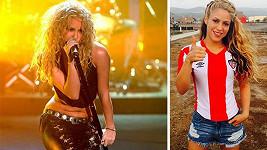 Shakira jako dvacátnice a dnes
