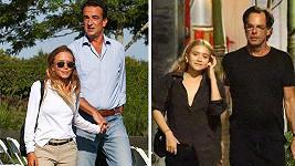 Mary-Kate i Ashley daly přednost partnerům, kteří by mohli být jejich otci.