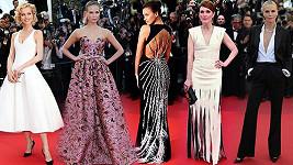Jak to slušelo kráskám v Cannes.