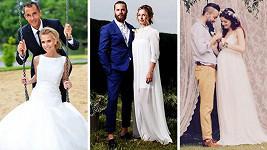 Rok 2015 si pro svatbu zvolilo plno známých párů.