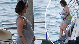 Spokojená Alanis Morissette bude již brzy dvojnásobnou maminkou.