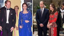 Královský pár na oficiální cestě po Indii.