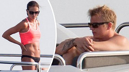 Kimi Räikkönen se snoubenkou Minttu Virtanen