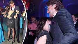 Dyk a Vilhelmová trsali na brněnském plese.