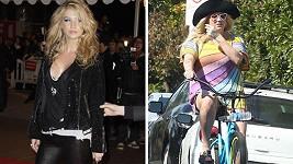 Kesha v roce 2010 a dnes