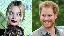 Margot Robbie a princi Harrymu by to spolu slušelo...