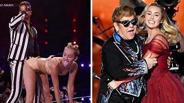 Miley Cyrus za pět let dozrála ve vkusnou ženu.