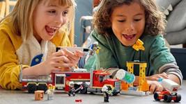 Nechte děti stát se hasiči a zažít akční zábavu