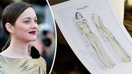 Marion zářila v Cannes.