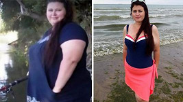 Ilona zhubla 90 kilogramů.