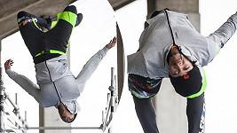 Ben Cristovao překvapil svými gymnastickými výkony.