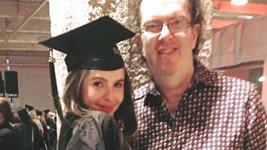 Richard Müller s dcerou