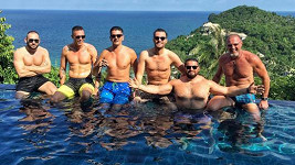 Leoš Mareš na dovolené v Thajsku