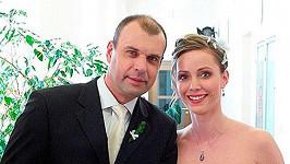 Petr Rychlý s jednou ze svých seriálových partnerem Markétou Plánkovou