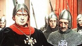 Martin Růžek a Karel Effa (vpravo) v Princezně se zlatou hvězdou (1959)
