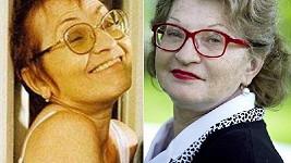 Představitelka Kudlákové se během let velmi změnila.