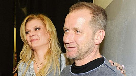 David Koller s manželkou Sylvou.