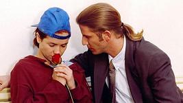 Facundo Arana a Natalie Oreiro v seriálu Divoký anděl (1998)