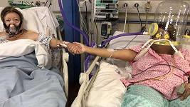 Anabel Sharma sdílela poslední okamžiky se svou maminkou.