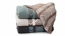Luxusní ručníky z bavlny i bambusu: Výhodněji už je nepořídíte!