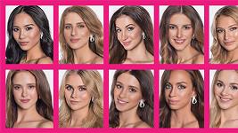 Těšte se, do čeho se svléknou finalistky Miss Face 2017!