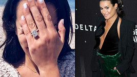Lea Michele se zasnoubila.
